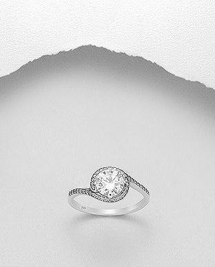 Sterling Ring-  CZ