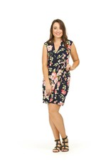 Papillon Fae Floral Print Wrap Dress