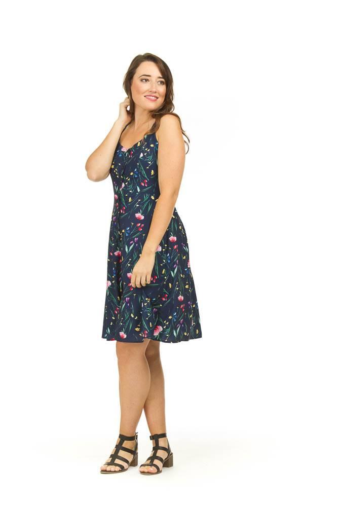 Papillon Liberty Button Front Dress