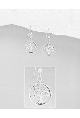 Sterling Tree Of Life Drops