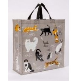 Blue Q Shopper- People I love: Cats