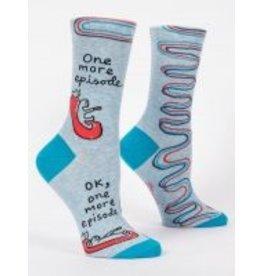 Blue Q Ladies Crew Socks-One More Episode