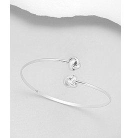 Sterling Bracelet- Double Knot