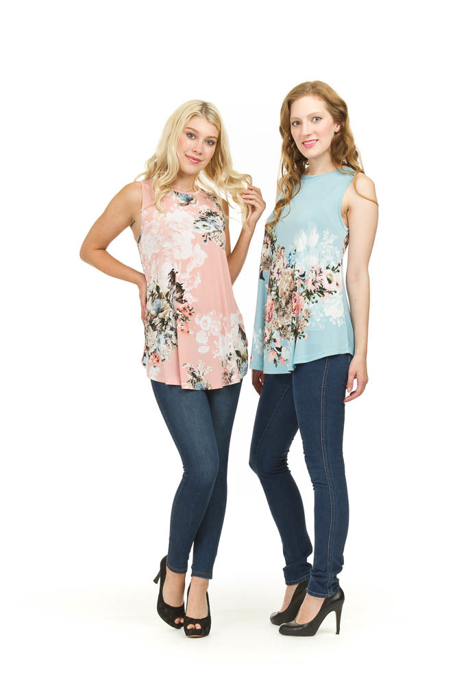 Papillon Louise Floral Printed Top