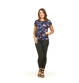 Papillon Aubrey Burnout Shirt