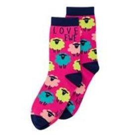 Love Ewe Karma Socks