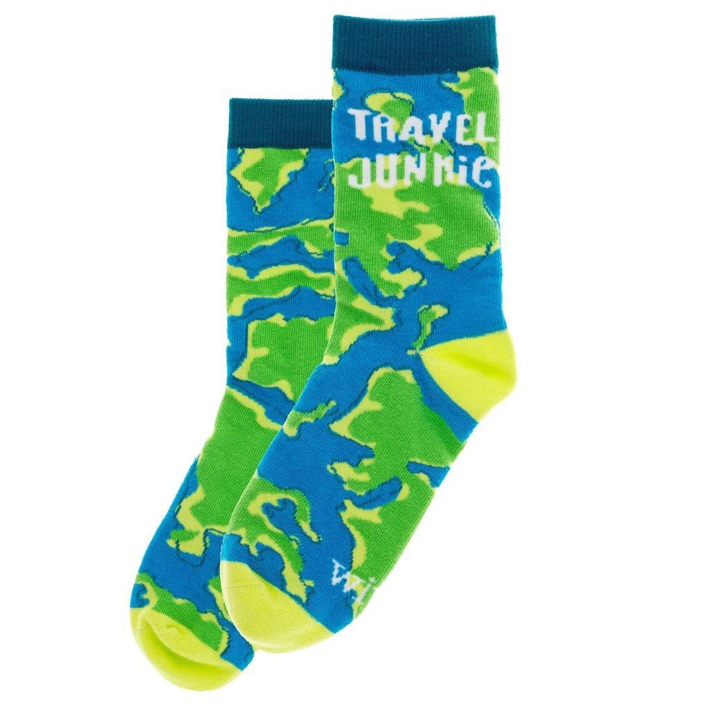 Wit Socks- Travel Junkie
