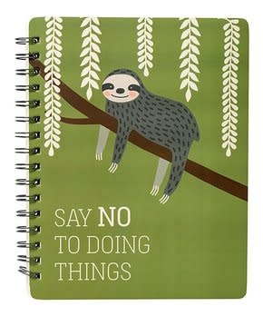 Primitives by Kathy Spiral Notebook- Doing Things