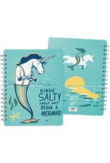 Primitives by Kathy Spiral Notebook- Salty