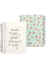 Primitives by Kathy Spiral Notebook- A Life