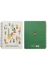 Primitives by Kathy Spiral Notebook- Over Matter
