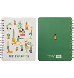 Primitives by Kathy Spiral Notebook- Over Matter