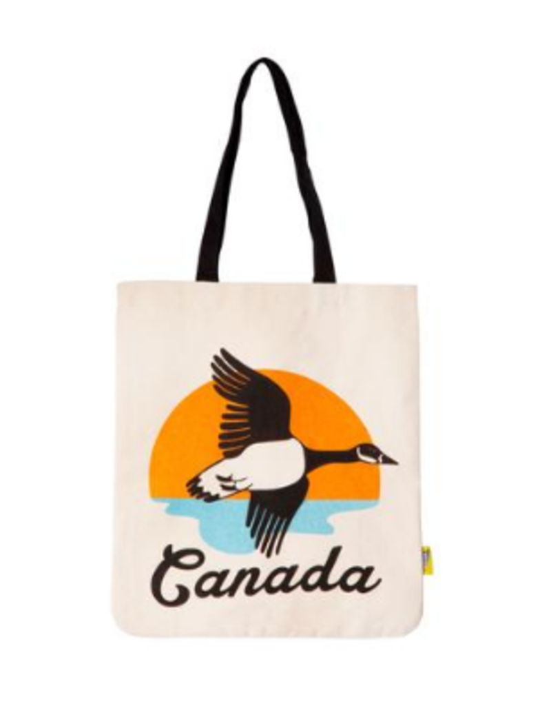 Main and Local Canadian Goose Tote Bag