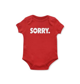 Main and Local Sorry Onesie