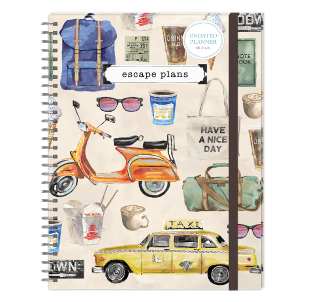 Molly & Rex Daily Planner (More Styles)