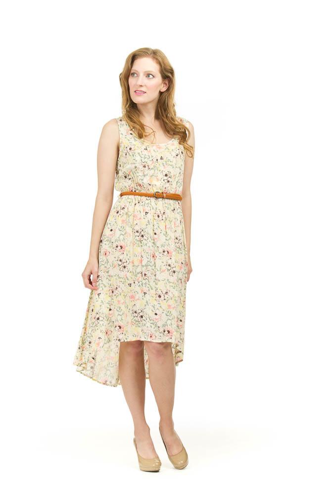 Papillon Ember High Low Floral Dress