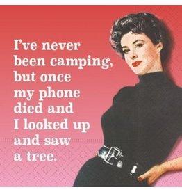 Design Design Napkins- Never Been Camping