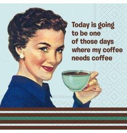 Design Design Napkins-My Coffee Needs Coffee