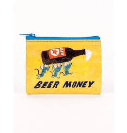 Blue Q Coin Purse-Beer Money
