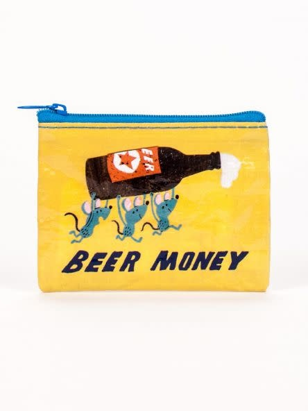 Blue Q Coin Purse-Beer Money