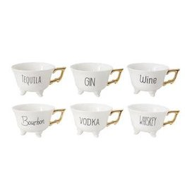 Creative Co-op Footed Cups