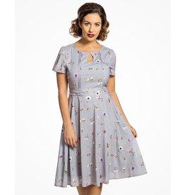 Bretta Lilac Floral Dress