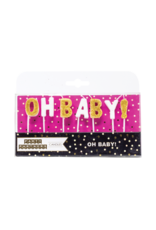 Party Partners Candle Set-Oh Baby