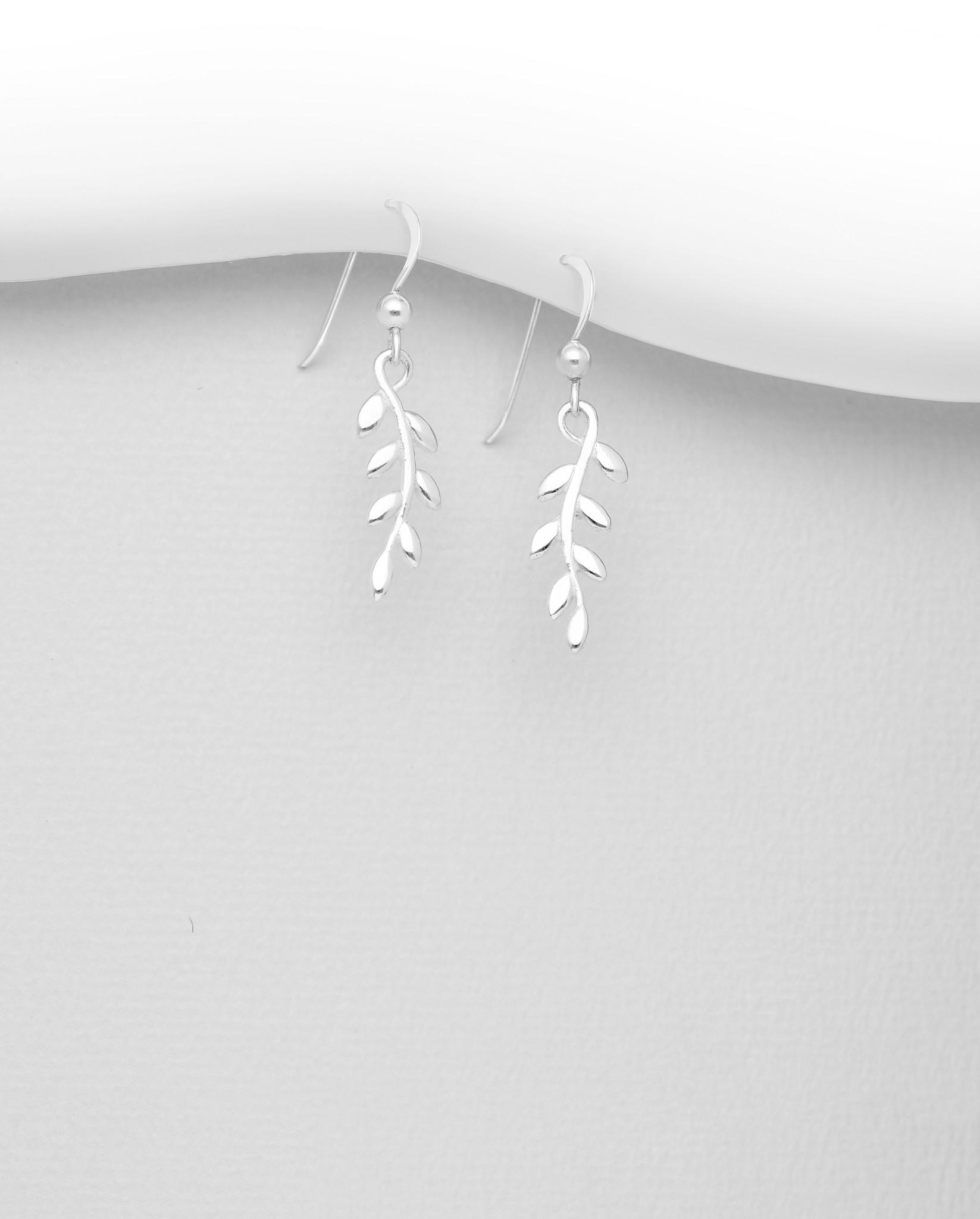 Sterling Vine Earrings
