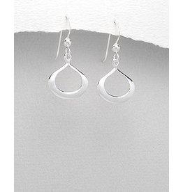 Sterling Teardrop Earrings