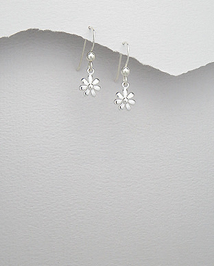 Sterling Small Daisy Drops