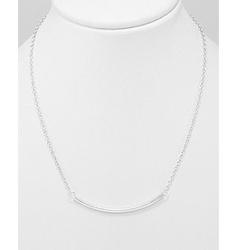Sterling Necklace- Bar