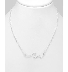 Sterling Necklace- Wave