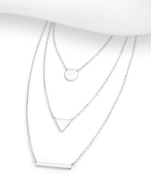 Sterling Necklace- Layered