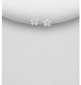 Sterling Studs- Small flower