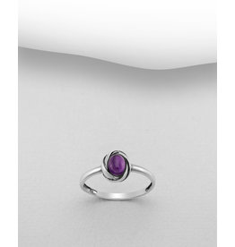 Sterling Ring- Amethyst