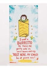 Blue Q Dish Towel-I want a Burrito
