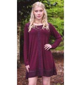 Papillon Terese Lace Sweater Dress