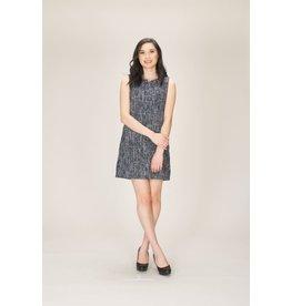 Papillon Addy Sleeveless Tweed Dress