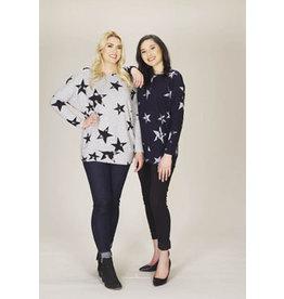 Papillon Star Print Sweatshirt