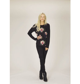 Papillon Marg Floral Sweater