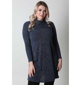 Papillon JJ Heathered Aline Sweater Dress