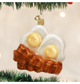 Old World Christmas Ornament- Bacon and Eggs