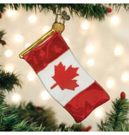 Old World Christmas Ornament- Canadian Flag