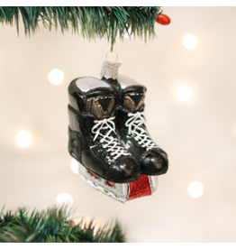 Old World Christmas Ornament- Hockey Skates