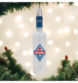 Old World Christmas Ornament- Vodka Bottle