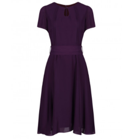 Bretta Dark Purple Dress