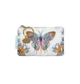 Papaya Art Coin Purse-Paisley Butterfly
