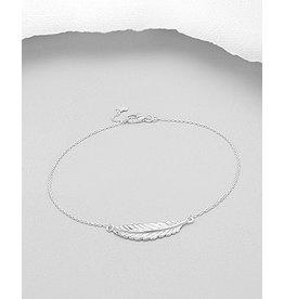 Sterling Leaf Bracelet