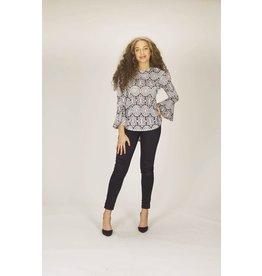 Papillon Reese Wide Sleeve Blouse