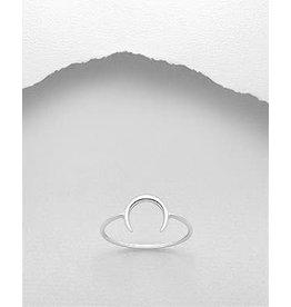 Sterling Sterling Ring- Horn